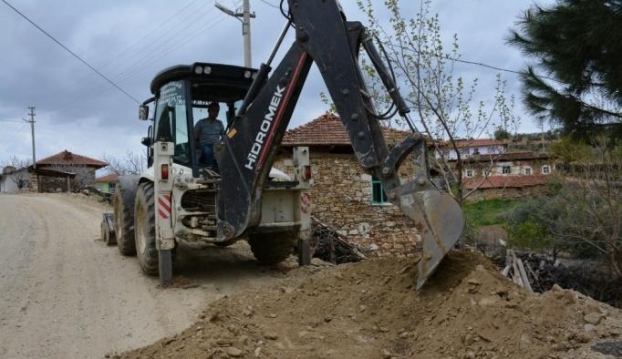 MASKİ'den Kırkağaç'ın mahallelerine 7 milyonluk yatırım