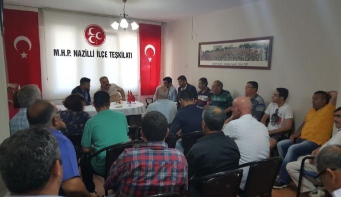 MHP'nin yeni ilçe teşkilatı bayramlaştı