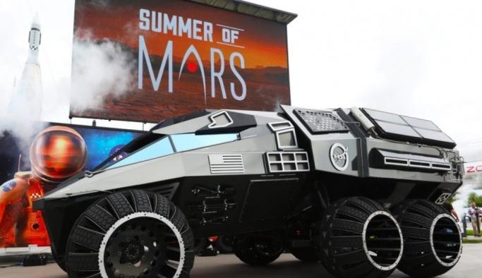 NASA Mars'ı keşfedecek aracı tanıttı