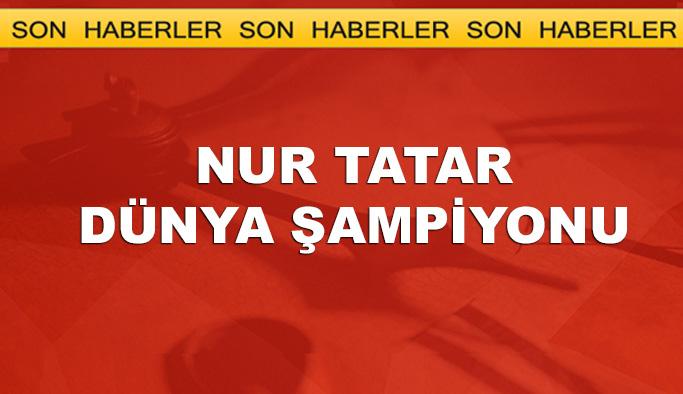 Nur Tatar Dünya Şampiyonu
