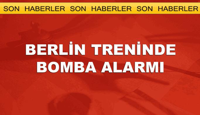 Polonya'da Berlin treninde bomba alarmı