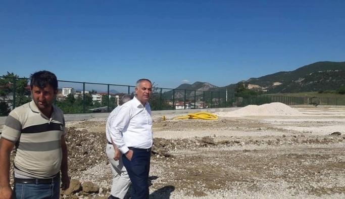Şehit Ömer Halisdemir Stadı'nda çalışmalar devam ediyor