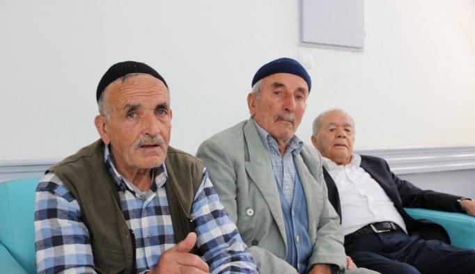 Sivas'ta huzurevinde hüzünlü bayram