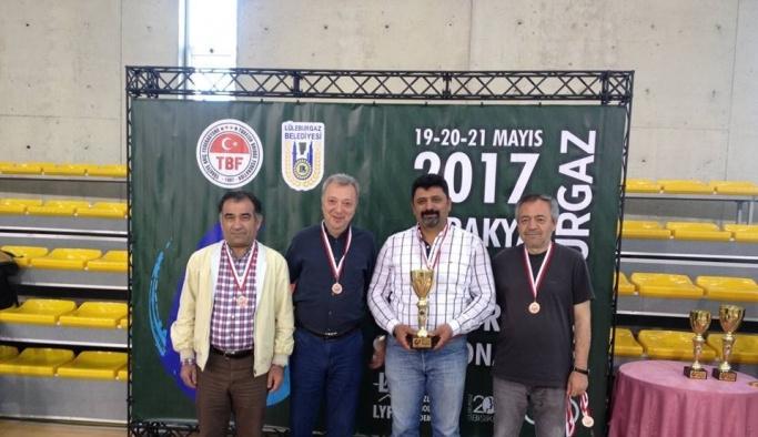 Süleymanpaşa Belediyesi briçte Türkiye finallerine katılmaya hak kazandı