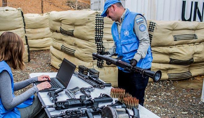 Terör örgütü FARC silahların tamamını teslim etti