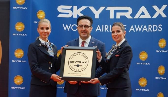 THY 2017 Skytrax Ödülleri'nde 4 ödül birden aldı
