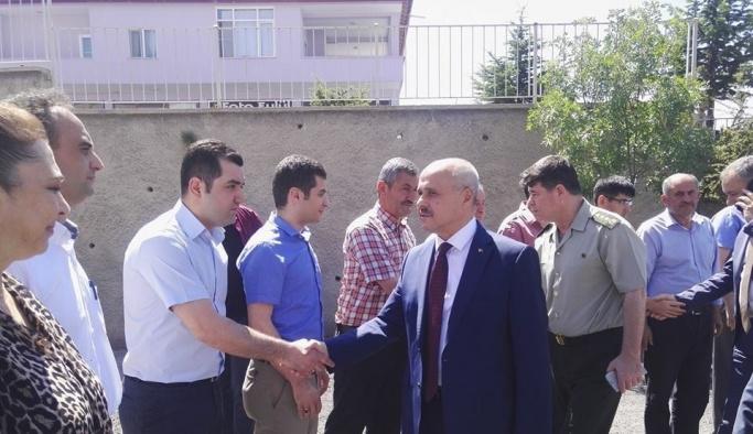 Vali Peynircioğlu, ilçelere veda ziyaretinde bulunuyor