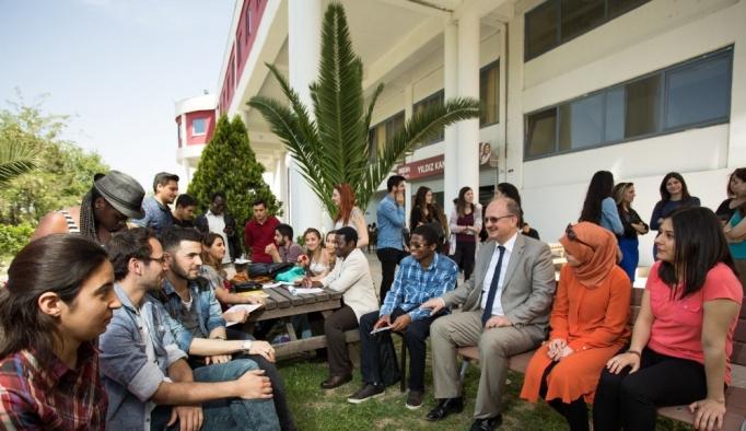 Yabancı uyruklu öğrenciler için memnuniyet araştırması