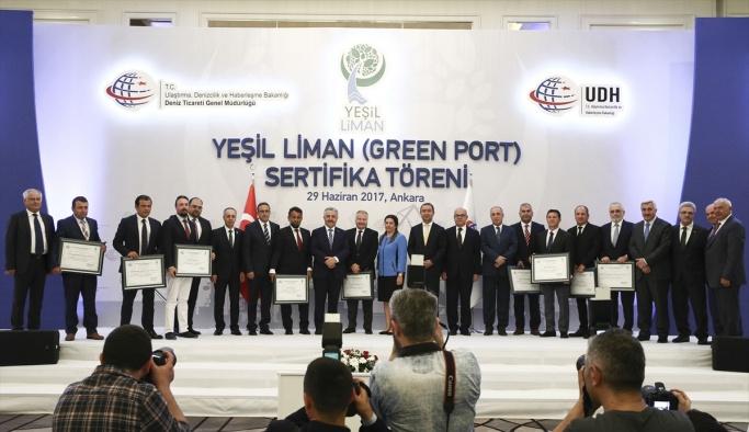 Yeşil Liman sertifika töreni