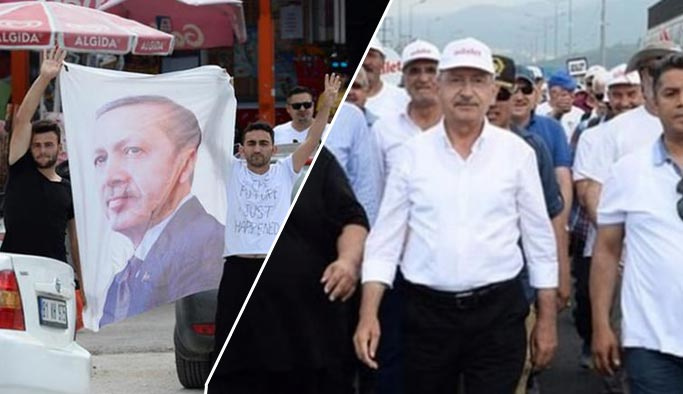 'Yürüyüş' İstanbul'a yaklaştıkça protestolar artıyor