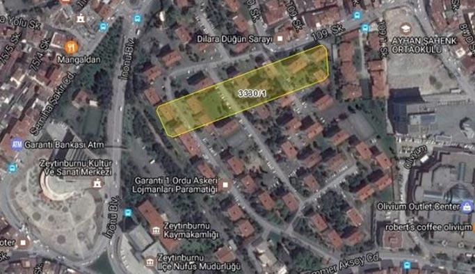 Zeytinburnu'daki ihalede milyarlar havada uçuştu