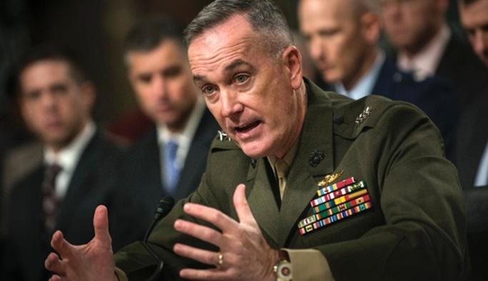 Dunford: Suriye'de mutlaka Türkiye'nin menfaatlerini dikkate alacağız