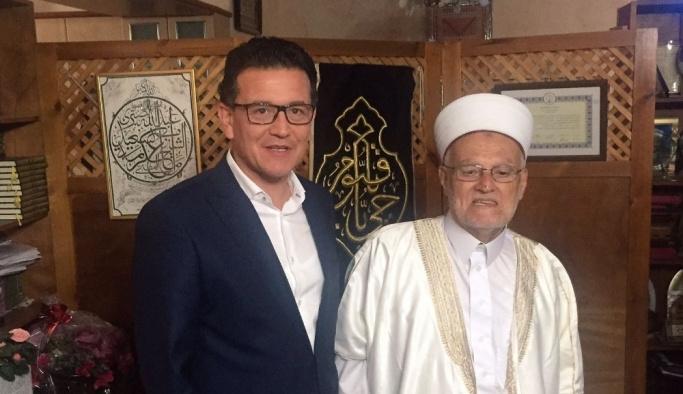 AK Parti Antalya milletvekili Atay Uslu Kudüs'te