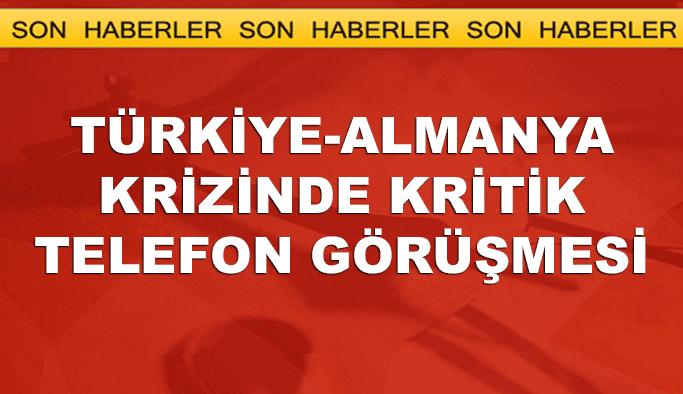 Bakan Çavuşoğlu Alman mevkidaşı ile telefonda görüştü