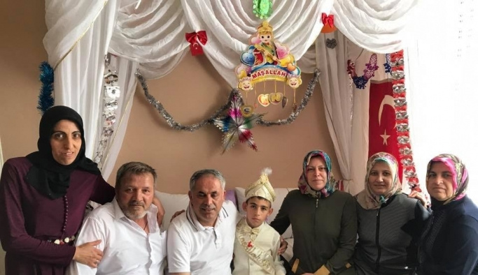 Başkan Yaman sünnet mevlidine katıldı