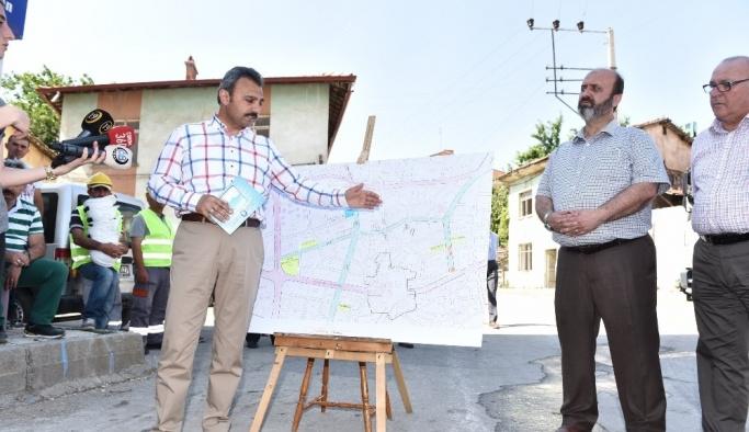 Çorum Belediyesi'nden yeni yol ve otopark çalışmaları