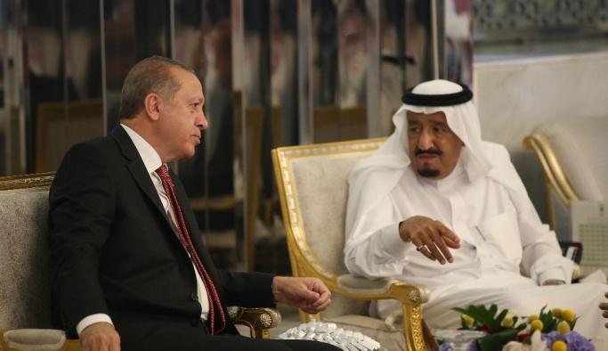 Cumhurbaşkanı Erdoğan körfez mesaisine başladı