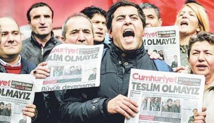 Cumhuriyet gazetesi davası bugün başlıyor