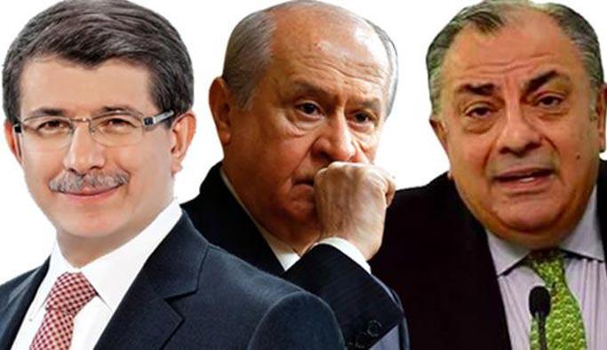 Davutoğlu'dan Bahçeli'ye Türkeş tepkisi