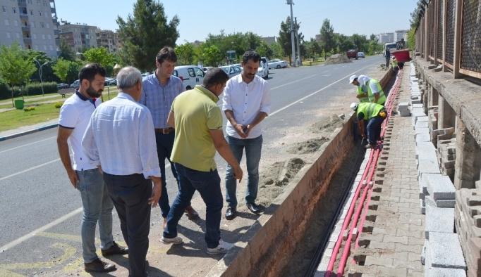 Dicle Elektrik Diyarbakır'daki 14 milyonluk yatırımın 2. etabını başlattı