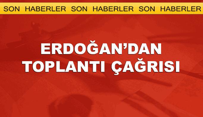 Erdoğan, AK Parti milletvekillerini toplantıya çağırdı