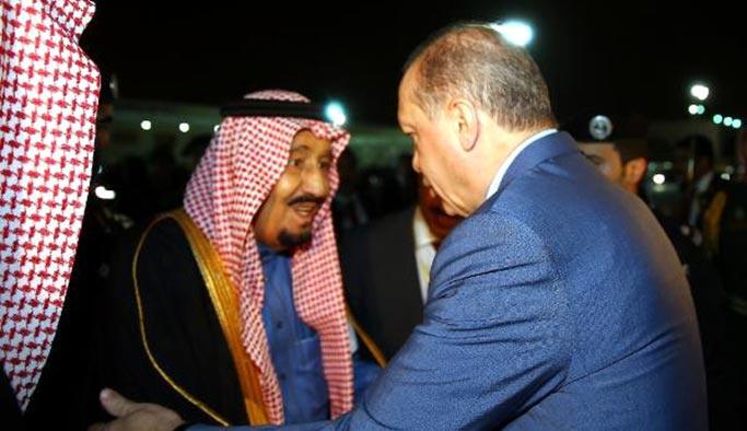 Erdoğan'ın körfez ziyareti başladı