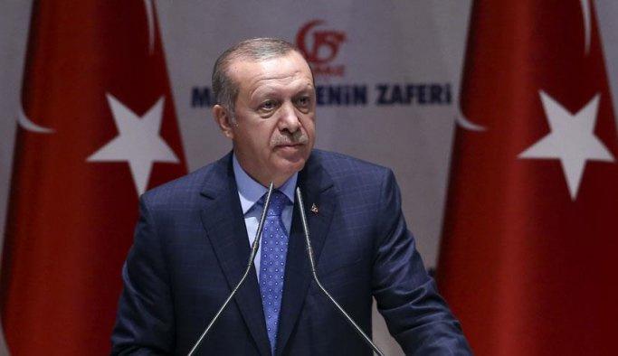 Erdoğan: Kimse Türkiye'nin Kıbrıs'ta seyirci olmasını beklememeli