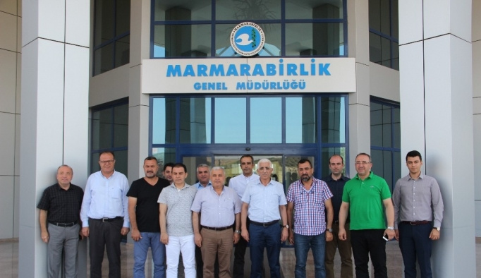 EZZİB'den Marmarabirlik'le 'ortak hareket' vurgusu