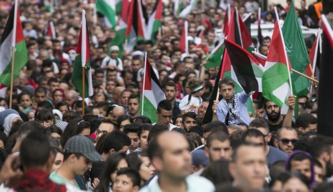 Filistinliler yarın Mescid-i Aksa'da toplanacak