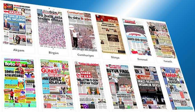 Gazetelerin bugünkü manşetleri 10 Temmuz 2017