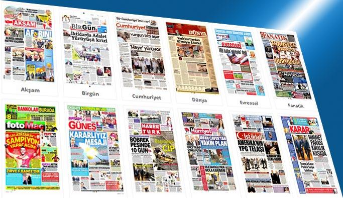 Gazetelerin bugünkü manşetleri 1 Temmuz 2017