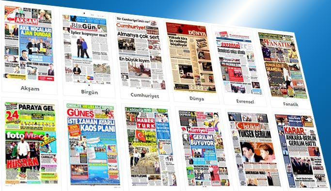 Gazetelerin bugünkü manşetleri 21 Temmuz 2017