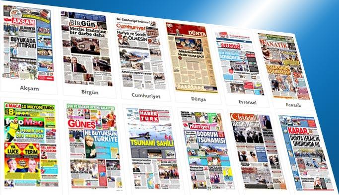Gazetelerin bugünkü manşetleri 22 Temmuz 2017