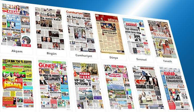 Gazetelerin bugünkü manşetleri 23 Temmuz 2017