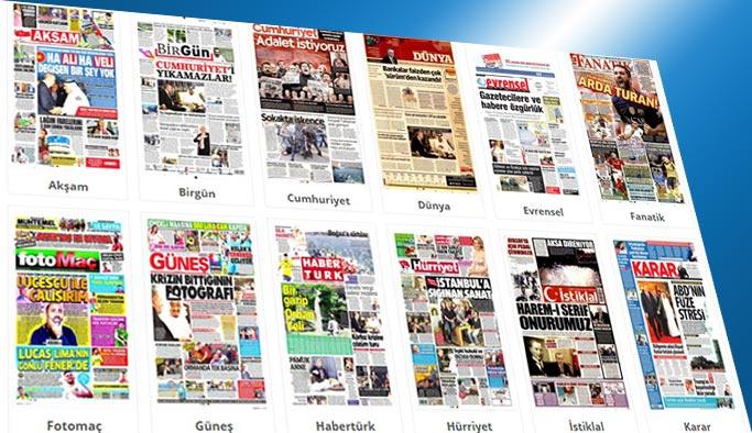 Gazetelerin bugünkü manşetleri 24 Temmuz 2017