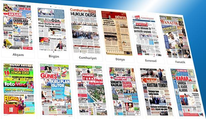 Gazetelerin bugünkü manşetleri 25 Temmuz 2017