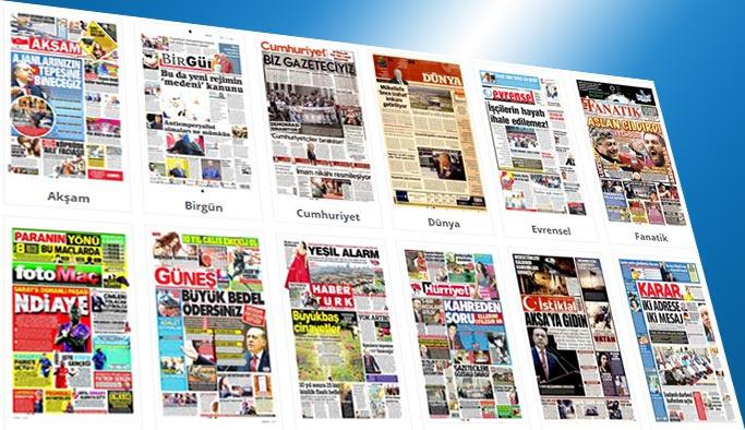 Gazetelerin bugünkü manşetleri 26 Temmuz 2017
