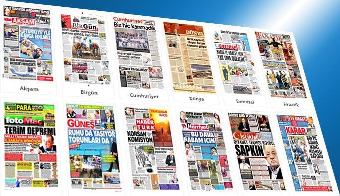 Gazetelerin bugünkü manşetleri 27 Temmuz 2017