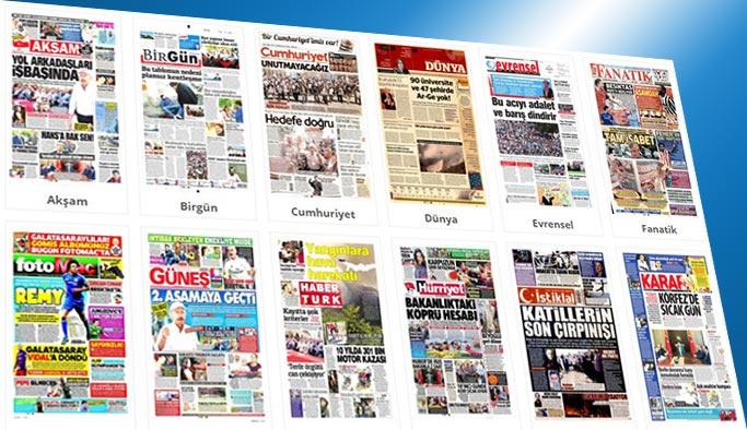 Gazetelerin bugünkü manşetleri 3 Temmuz 2017