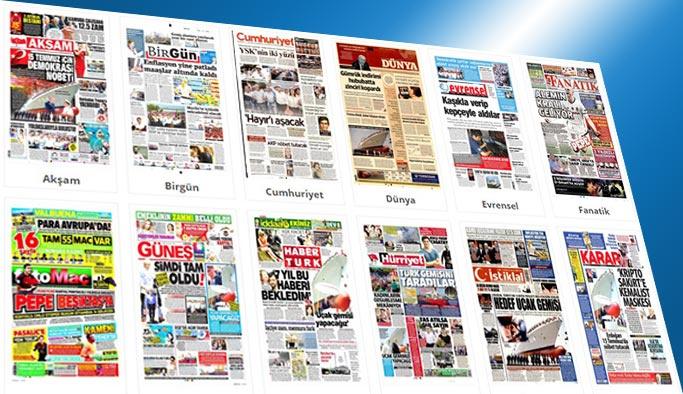 Gazetelerin bugünkü manşetleri 4 Temmuz 2017