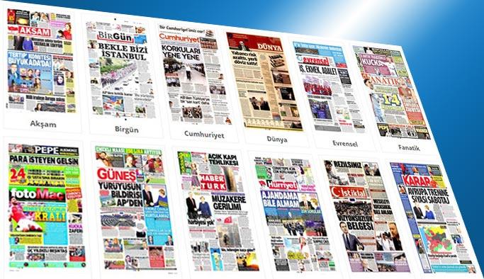 Gazetelerin bugünkü manşetleri 7 Temmuz 2017