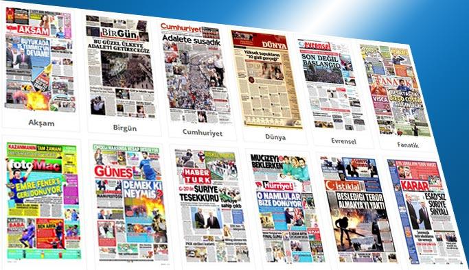 Gazetelerin bugünkü manşetleri 9 Temmuz 2017