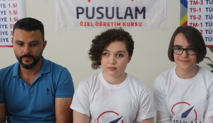 Görme engelli genç kız LYS Türkiye birincisi oldu