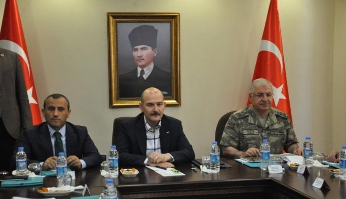 İçişleri Bakanı Soylu, Tunceli'de