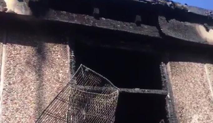 İngiltere'de camide 'şüpheli' yangın