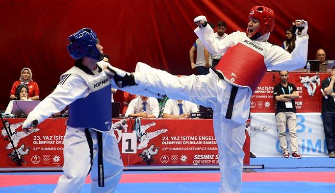 İşitme Engelliler Olimpiyatları'nda tarihi başarı