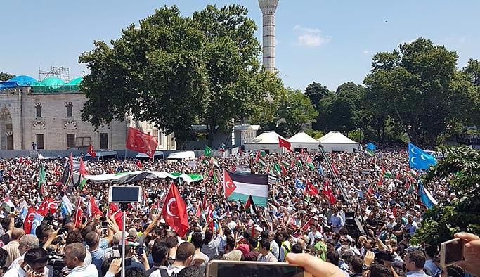 İsrail işgali Türkiye genelinde protesto edildi