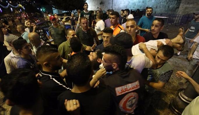İsrail polisi Mescid-i Aksa hatibini yaraladı