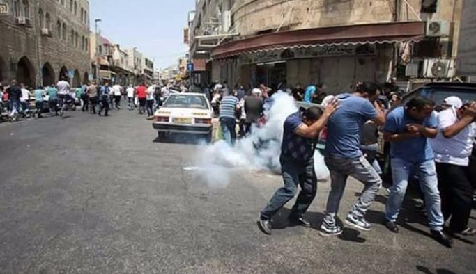 İsrail askerleri, cuma namazı sonrası Filistinlilere müdahale etti