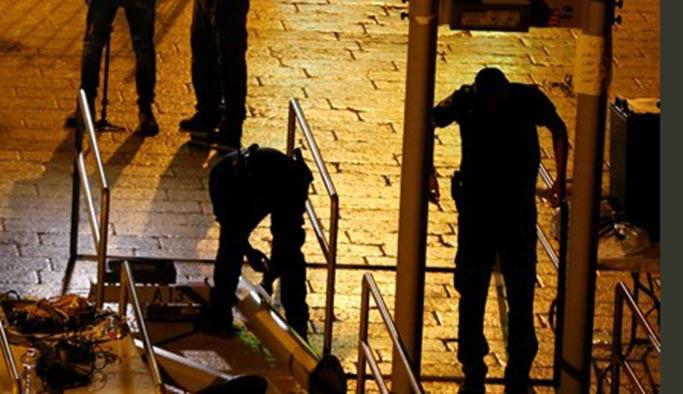 İsrail bu kez geri adım attı, dedektörler kaldırıldı